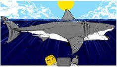 Fan Poster, Movie Poster Art, Art Posters, Jaws Movie, Jaws 4, Danny Miller, Pop Culture Art, Horror Films, Mixed Media Art