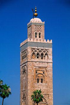 Mosquee Koutoubia Marrakech, Morocco
