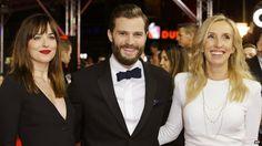 Fifty Shades of Grey film premieres in Berlin - Source - BBC News - © 2014 BBC #50ShadesOfGrey, #Movies