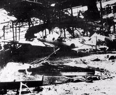 Clark Air Base Hangared Japanese planes at Clark began suffering heavily at the hands of American bomber attacks toward the later years of WWII. Douglas Macarthur, Historical Photos, World War Ii, Wwii, Philippines, Air Force, United States, History, American