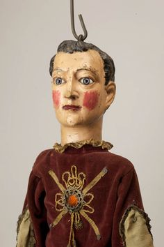 Théâtre Louis de Budt – Jeune homme, marionnette de Lille, 19th century