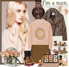 """""""I'm a teen"""" by fashion-mariquita-camy ❤ liked on Polyvore"""
