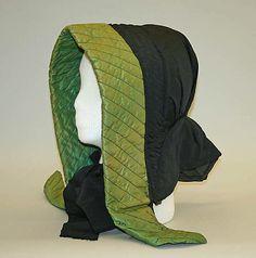 American silk hood 1860's