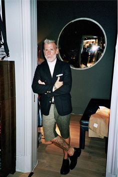 fuckyeahnickwooster — clubmonaco: Was happy to have taken Mr. Nick...