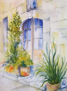 Simple Watercolor Painting Ideas30