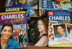 Charles in Charge DVDs signed by Josie Davis Nicole Eggert, Scott Baio, Second Season, The Neighbourhood, The Neighborhood