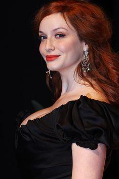 Christina Hendricks - Orange British Academy Film Awards 2012 - Press Room