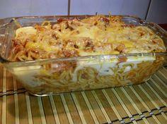 Lekcje w kuchni: zapiekanka z makaronu spaghetti