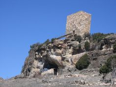 Guadalajara Entrada Cueva de los Casares -