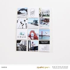 Project Life, Mini Albums, Wanderlust, Canning, Digital, Creative, Scrapbooking, Collection, Instagram
