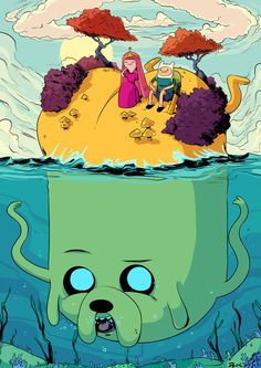 adventure time butt island