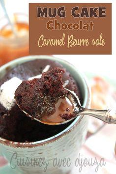 Mug cake sans beurre au chocolat, le gateau minute au micro ondes