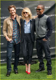 Emma Stone & Andrew Garfield: 'Amazing Spider-Man 2' L.A. Photo Call!