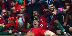 Overtime Goal Scores Portugal Its First Euro Cup Championship