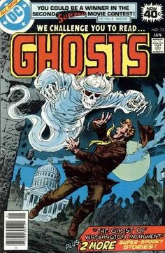 Ghosts #72 - The Ghost of Washington Monument / And a Sea Specter Answered / The Phantom Fielder