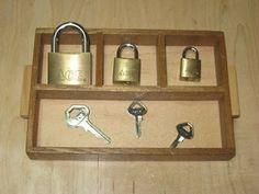 Key and Lock Work Tasks