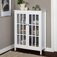 small windowed cabinet - Google Search