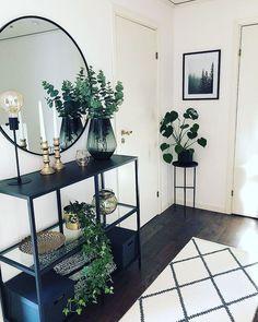 38 ideas home living room design plants for 2019 Decor, Home Living Room, Living Room Decor Apartment, Home Decor, House Interior, Apartment Decor, Bedroom Decor, Home Interior Design, Home And Living