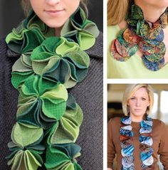 Circle Scarves ePattern... I have it in my head that I might be able to make this...