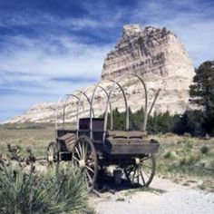 Pioneer wagon plus facts about the Oregon trail
