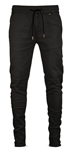 129a4caa997 Kayden K Men s Tapered Zipper Ankle Jogger Pants at Amazon Men s Clothing  store