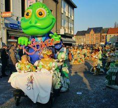 Carnaval Aalst foto- en videoblog: 4. De Sjattrellen