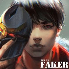 Faker - I am the blade in the darkness [Zed Fanart] - Imgur