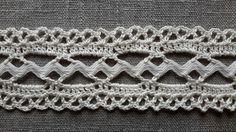 Haakrandjes met Zigzagband haken randen Rick Rack crochet edgings http:// www.degelukkigenaaister.blogspot.com