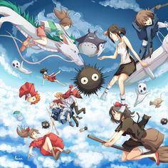Ghibli! by ~Rejuvenesce on deviantART