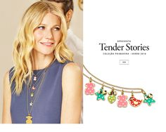 Gwyneth Paltrow presents Tender Stories. 2016 spring-summer collection. VIEW
