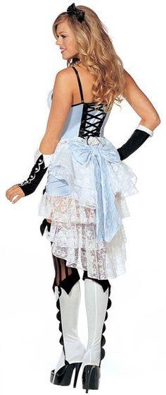 Steampunk Victorian style Alice in Wonderland Costume
