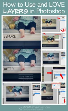 How to Use and Love Layers in Photoshop.
