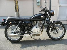 Suzuki 250 with custom seat