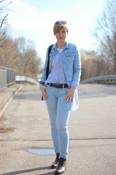 babyblue and black, hellblau und schwarz, old navy, only jeans, tamaris, 40plus,