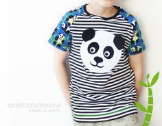 Die Pandas sind los! Der Sommer kann kommen mit dem enemenemeins Lillestoff »Bamboo« dem coolen Plotter Freebie!