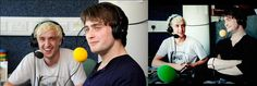 Tom Felton and Daniel Radcliffe cricket interview with TMS http://www.youtube.com/watch?v=1u2s4Jqd01k