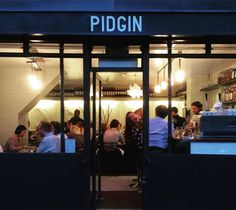 pidgin restaurant hackney - Google Search