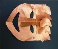 Dans ma classe de GS : nos masques grecs
