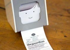 """Little Printer – Sua mini impressora de notícias – Diz """"Olá"""""""