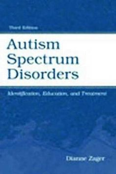 NEW Autism Spectrum Disorders BOOK (Paperback)