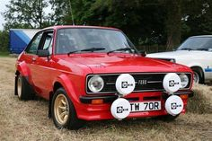 Ford Sport, Ford Rs, Escort Mk1, Classic Car Restoration, Old School Cars, Ford Classic Cars, Classic Motors, Automotive Art, Rally Car