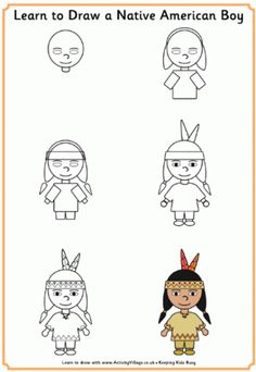 Thanksgiving Learn to Draw Printables