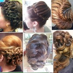 How To: 6 braided updos