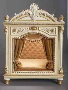 ༻⚜༺ Handmade Luxury Designer Dog Beds For Small Dogs   Dog ... #SmallDog