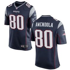 Men New England Patriots #80 Game Jersey #NewEnglandPatriots #Jersey #patriotsFans #Jerseys #Fashion #Game Jersey
