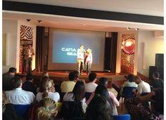 Assiste ao video que fiz após termos subido ao palco... http://blog.catiaeluis.com/blog/quando-queremos-alcancamos