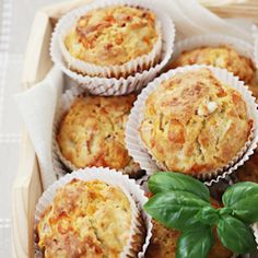 SAVORY MUFFIN recipes | Savory Ham and Cheese Muffins -
