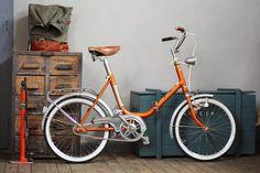 Lo creas o no, esta es una bici plegable restaurada por Dale  pedales. Felicidades desde #bicicletas 2 @biciprix