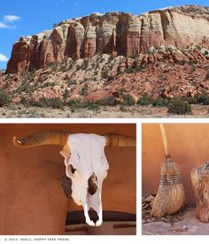 Little Sunny Studio: Photo Journal: Georgia O'Keeffe's Ghost Ranch, New Mexico