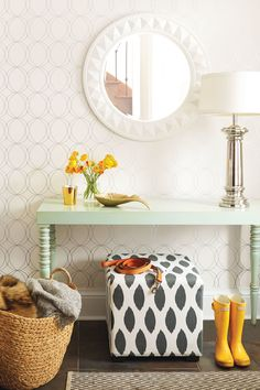 Don't be afraid to edit. If a room is so cluttered with furniture you can't move around easily, get rid of smaller pieces you can live without.